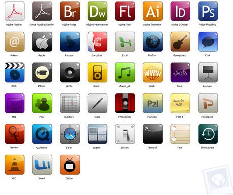 Vi presento un set di icone in puro stile iPhone: Spiffy ...