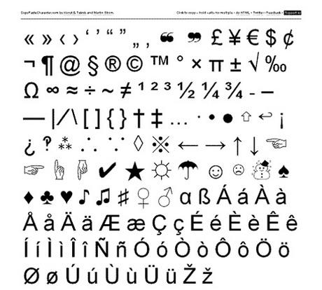 Famoso Caratteri speciali sempre a portata di mano con CopyPasteCharacter  CG39