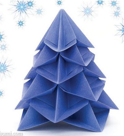 Come Fare Un Albero Di Natale Di Carta Con Gli Origami Segreti E