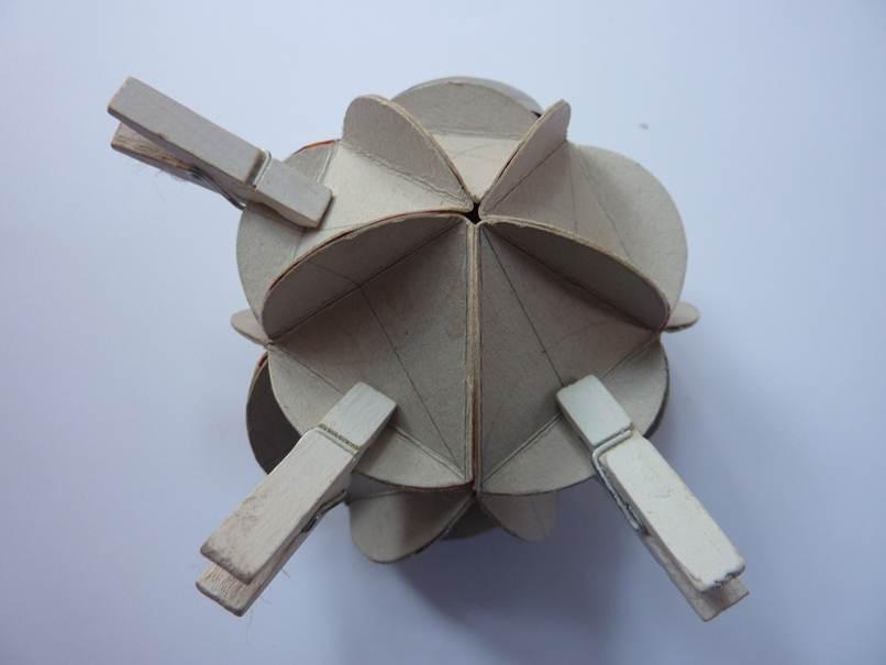 Eccezionale Come fare palline di Natale di carta riciclata | | Segreti e  PT39