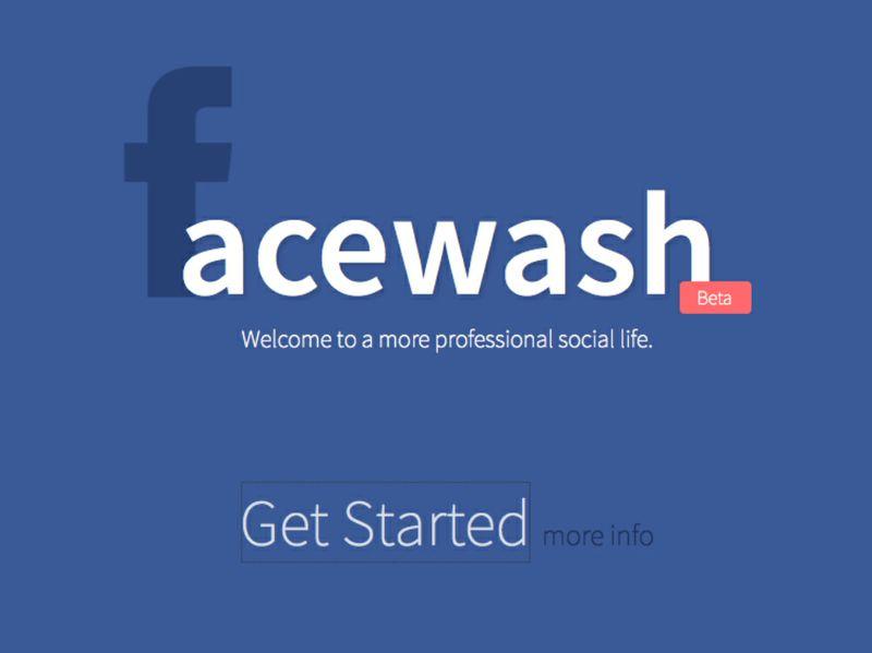 Facewash come ripulire velocemente il nostro profilo for Segreti facebook