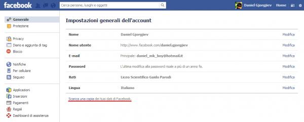 Come cancellarsi definitivamente da facebook guida for Segreti facebook
