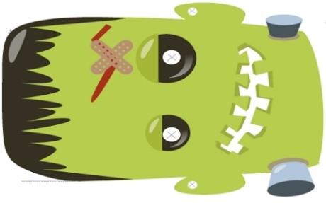 Maschere da stampare e ritagliare per halloween o for Maschere stampabili