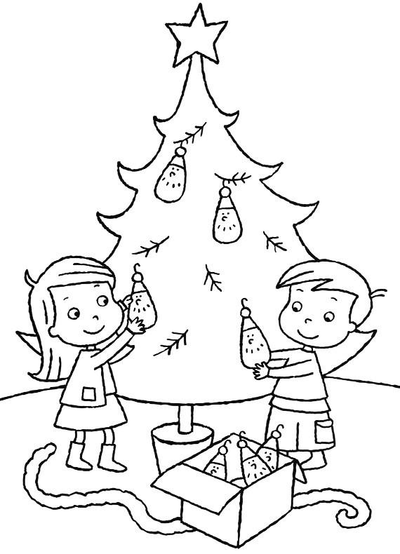 Albero Di Natale Da Disegnare Per Bambini Santantonioposta