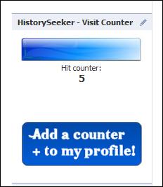 Eccovi un contatore di visite su facebook historyseeker for Segreti facebook
