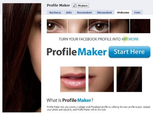 Un mosaico nel profilo di facebook segreti e consigli for Segreti facebook