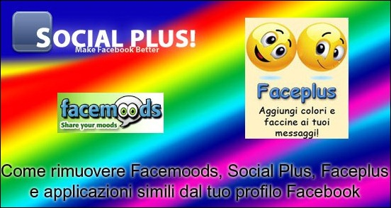 Facebook come rimuovere facemoods social plus e for Segreti facebook