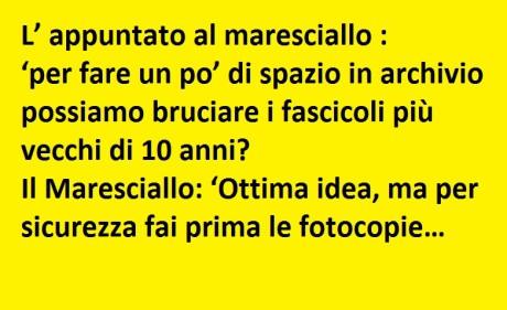 Foto divertenti con frasi e barzellette carabinieri per for Immagini buongiorno divertentissime