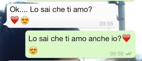 frasi amore per whatsapp