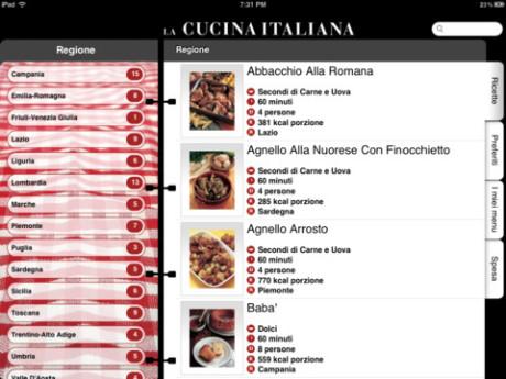 App per scrivere ricette