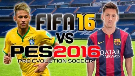 PES 2016 vs FIFA 2016 quale migliore videogioco di calcio