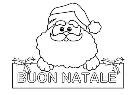 Immagini Di Natale Da Colorare E Da Stampare.Disegni Di Natale Babbo Natale Da Colorare Segreti E