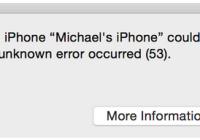 error 53 iPhone 6 iOS9 risolvere errore iPhone