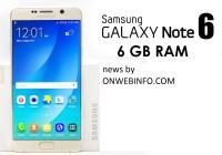 galaxy note 6 256 gb ram