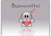 Buonanotte-amore-con cuoricino per WhatsApp