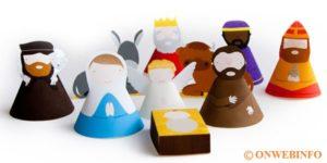 Prese di carta 3D da stampare con tutti i personaggi