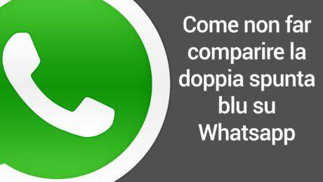 Come essere invisibili su WhatsApp | Informarea