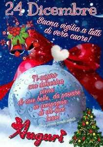 Foto Per Auguri Buona Vigilia Di Natale Su Whatsapp E